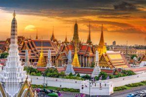 Khám phá Bangkok – Pattaya – Chợ nổi bốn miền – vườn bách thảo nhiệt đới Nong Nooch