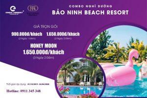 Combo du lịch Quảng Bình – Nghỉ dưỡng siêu sang tại Bảo Ninh Beach resort